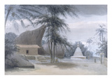 Scene Between Galle and Matura, About Six Miles from Galle, C.1801 Giclee Print by Samuel Daniell