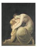 Tekemessa and Eurysakes, c.1800-10 Giclee Print by Henry Fuseli