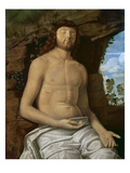 The Dead Christ, C.1510 (Oil on Panel) Giclee Print by Marco Basaiti