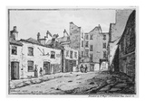View of Cato Street, 1820 (Litho) Giclee Print by William Henry Harriott