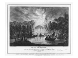 Third View of Trianon, Taken from the English Garden Between the Castle and the Temple of Love Giclee Print by Louis-Nicolas de Lespinasse