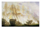 The Battle of Trafalgar, c.1841 Giclee Print by John Christian Schetky