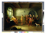 Falstaff and the Recruits, from 'Henry IV, Part II' III, II, c.1818 Giclee Print by John Cawse