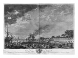Port of Rochefort, Seen from the Colonies' Store, Series of 'Les Ports De France' Giclée-Druck von Claude Joseph Vernet