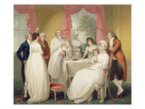 Christening of the Heir, c.1799 Giclee Print by William Redmore Bigg