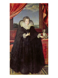 Isabella of Bourbon (1602-44) Queen of Spain, 1615-22 Giclee Print by Frans II Pourbus