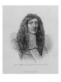 John Aubrey, Engraved by Charles Eden Wagstaff (Engraving) Giclee Print by William Faithorne