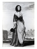 Autumn, 1643 (Etching) Lmina gicle por Wenceslaus Hollar