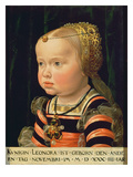 Archduchess Eleanor of Mantua (1534-94), Aged Two (Panel) Giclee Print by Jakob Seisenegger