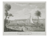 A View of the Town and Harbour of Montego Bay, in the Parish of St. James, Jamaica Giclee Print by  English