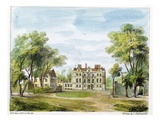 South Front, Old Palace, Kew Gardens, Plate 2 Giclee Print by George Ernest Papendiek