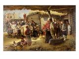 Easter Te Deum, 1887 Giclee Print by Vladimir Egorovic Makovsky
