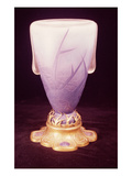 Favrile Vase with Ormolu Base (Glass) Giclee Print by Louis Comfort Tiffany