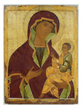 Virgin and Child, C.1500 (Tempera on Panel) Giclee Print by  Russian