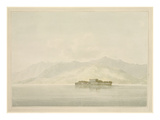 Isola Madre, Lago Maggiore, C.1781 (W/C over Graphite on Laid Paper) Giclee Print by John Warwick Smith