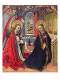 The Annunciation, 15th Century Giclee Print by Jaume Huguet