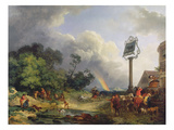 The Rainbow, 1784 (Oil on Canvas) Giclee Print by Philip James Loutherbourg