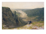 The Avon Gorge, Looking over Clifton, C.1820 Giclee Print by Francis Danby