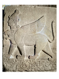 The Sphinx, Karkemish, 11th-9th Century BC (Stone) Giclee Print by  Syrian