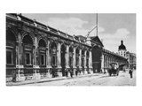 View of Smithfield Meat Market, C.1905 (B/W Photo) Giclee Print by  English Photographer