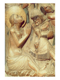 The Martyrdom of St Thecla, Detail from the High Altar (Alabaster) Giclee Print by Pere Johan
