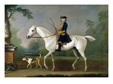 Sir Roger Burgoyne Riding 'Badger', 1740 Giclee Print by James Seymour