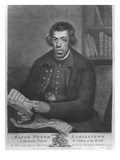 Major Peter Labilliere, Etched by Henry Kingsbury, 1780 (Etching and Mezzotint) Giclee Print by Joseph Wright