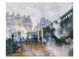 The Pont De L'Europe, Gare Saint-Lazare, 1877 Giclee Print by Claude Monet