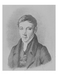 Robert Owen, 1823 (Engraving) Premium Giclee Print by Matilda Heming