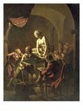 An Academy by Lamplight, c.1768-69 Giclee Print by Joseph Wright Of Derby
