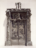 Gates of Hell, C.1890 (Bronze) Giclee Print by Auguste Rodin