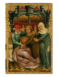 The Stolen Blessing from the High Altar of St. Peter's in Hamburg, the Grabower Altar, 1383 Giclee Print by  Master Bertram of Minden
