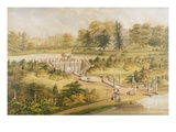Design for Cowley Manor, C.1860 (W/C, Pen and Ink on Paper) Giclee Print by George Somers Clarke