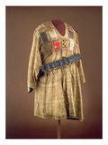 Asante 'Adinkra' Hand Painted Smock, from Ghana (Textile) Giclee Print by  African