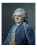 Comte De Provence, C.1778 (Pastel) Giclee Print by Adelaide Labille-Guiard