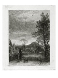The Skylark (Etching) Giclee Print by Samuel Palmer