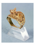 Horse Ring of Ramesses Ii (1279-1213) New Kingdom (Gold) Giclee Print by  Egyptian 19th Dynasty