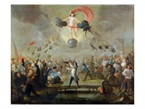 Allegory of Fortune, c.1730 Giclee Print by Balthasar Nebot