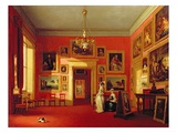 Lord Northwick's Picture Gallery at Thirlestaine House, c.1846-47 Giclee Print by Robert Huskisson