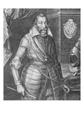 Maximilian I, Elector of Bavaria (Engraving) Giclee Print by Peter Isselburg