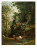 Landscape Near Clifton, C.1822-23 (Oil on Canvas) Giclee Print by Francis Danby
