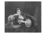 Sigismonda with the Heart of Her Husband, Engraved by T.W. Shaw, from 'The Works of Hogarth' Giclee Print by William Hogarth