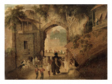 East Gateway, Patna, 1825 Giclee Print by Charles D'oyly