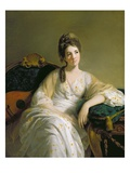 Eleanor Francis Grant, of Arndilly, C.1764-69 (Oil on Canvas) Giclee Print by Tilly Kettle