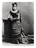 Berthe Morisot (1841-95) (B/W Photo) Giclee Print by  French