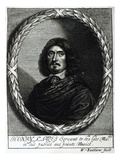 Henry Lawes (1596-1662) (Engraving) Giclee Print by William Faithorne