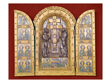 Reliquary (Copper Gilt with Champleve Enamel) Giclee Print by  Godefroid de Huy