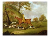 Huntsman and Hounds, 1809 Premium Giclee Print by John Nott Sartorius