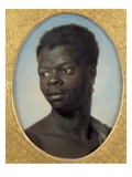 Portrait of a Young Negro, C.1751 (Pastel on Paper) Giclee Print by Maurice Quentin de La Tour