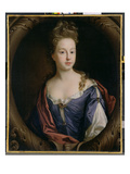 Frances Hales, c.1680-90 Giclee Print by John Riley